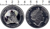 Изображение Монеты Австралия и Океания Фиджи 1 доллар 2009 Посеребрение UNC