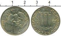 Изображение Монеты Европа Сан-Марино 200 лир 1985 Латунь UNC