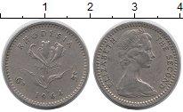Изображение Монеты Великобритания Родезия 5 центов 1964 Медно-никель XF
