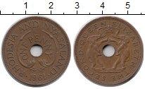 Изображение Монеты Родезия 1 пенни 1961  XF Елизавета II