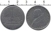 Изображение Монеты Европа Ватикан 100 лир 1962 Медно-никель UNC-