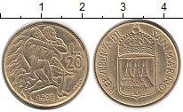 Изображение Монеты Сан-Марино 20 лир 1973 Латунь UNC-
