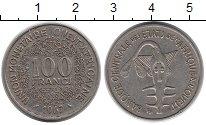 Изображение Монеты Западная Африка 100 франков 1967 Медно-никель XF