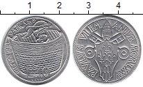 Изображение Монеты Европа Ватикан 10 лир 1975 Алюминий UNC