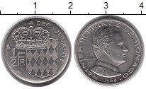 Изображение Монеты Монако 1/2 франка 1965 Медно-никель XF Раньер III