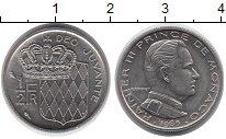 Изображение Монеты Европа Монако 1/2 франка 1965 Медно-никель UNC-