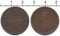 Изображение Монеты Азия Индия 1/4 анны 1933 Бронза XF