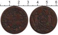 Изображение Монеты Великобритания Борнео 1 цент 1889 Медь VF