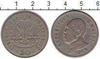 Изображение Монеты Северная Америка Гаити 50 сантим 1908 Медно-никель VF