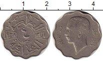Изображение Монеты Азия Ирак 4 филса 1938 Медно-никель XF