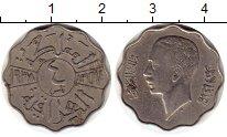 Изображение Монеты Ирак 4 филса 1938 Медно-никель XF Гази I