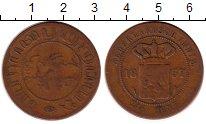 Изображение Монеты Нидерландская Индия 2 1/2 цента 1857 Медь VF Герб