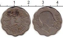 Изображение Монеты Ирак 4 филса 1931 Медно-никель VF Фейсал I