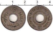 Изображение Монеты Азия Палестина 5 милс 1939 Медно-никель XF