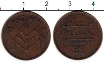 Изображение Монеты Палестина 1 мил 1937 Бронза XF