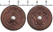 Изображение Монеты Родезия 1 пенни 1963 Бронза UNC-