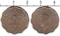 Изображение Монеты Индия 1 анна 1939 Медно-никель XF