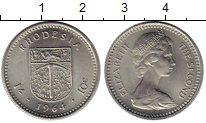 Изображение Монеты Родезия 10 центов 1964 Медно-никель UNC- Елизавета II
