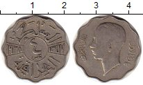 Изображение Монеты Ирак 4 филса 1938 Медно-никель VF