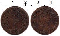 Изображение Монеты Цейлон 1 цент 1942 Бронза VF