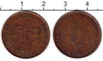 Изображение Монеты Шри-Ланка Цейлон 1 цент 1945 Бронза VF