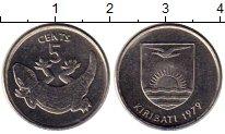Изображение Монеты Австралия и Океания Кирибати 5 центов 1979 Медно-никель XF