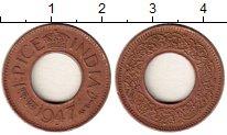 Изображение Монеты Индия 1 пайс 1947 Бронза XF Георг VI