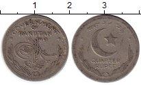 Изображение Монеты Азия Пакистан 1/4 рупии 1949 Медно-никель VF