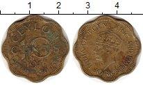 Изображение Монеты Шри-Ланка Цейлон 10 центов 1944 Латунь VF