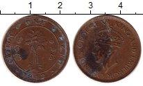 Изображение Монеты Цейлон 1 цент 1942 Бронза VF Георг VI