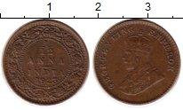 Изображение Монеты Азия Индия 1/12 анны 1923 Бронза XF