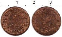 Изображение Монеты Индия 1/12 анны 1928 Бронза VF