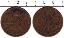 Изображение Монеты Европа Швеция 2 эре 1765 Медь VF