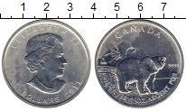 Изображение Монеты Северная Америка Канада 5 долларов 2011 Серебро UNC-