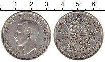 Изображение Монеты Европа Великобритания 1/2 кроны 1944 Серебро VF