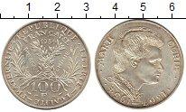 Изображение Монеты Европа Франция 100 франков 1984 Серебро XF