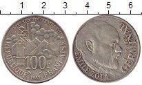 Изображение Монеты Европа Франция 100 франков 1985 Серебро XF-