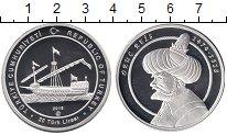 Изображение Монеты Турция 20 лир 2018 Серебро Proof