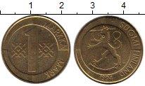 Изображение Монеты Европа Финляндия 1 марка 1994 Латунь XF
