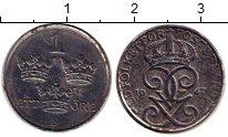Изображение Монеты Швеция 1 эре 1947 Железо VF Густав V