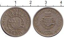Изображение Монеты Мозамбик 2 1/2 эскудо 1973 Медно-никель VF