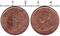 Изображение Монеты Шри-Ланка Цейлон 1 цент 1922 Бронза XF