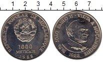 Изображение Монеты Африка Мозамбик 1000 метикаль 1988 Медно-никель XF