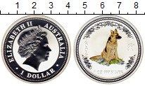 Изображение Монеты Австралия 1 доллар 2006 Серебро Proof-