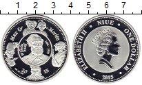 Изображение Монеты Ниуэ 1 доллар 2015 Серебро Proof