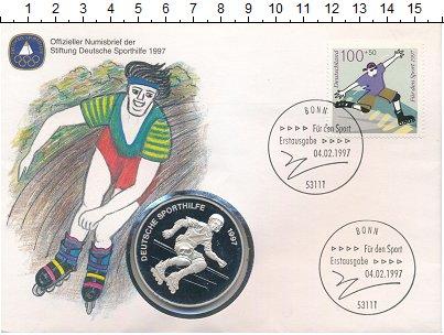 Изображение Подарочные монеты Европа Германия Медаль 1997 Посеребрение Proof