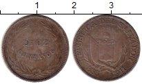 Изображение Монеты Северная Америка Сальвадор 10 сентаво 1911 Серебро VF