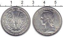 Изображение Монеты Камерун 2 франка 1948 Алюминий UNC