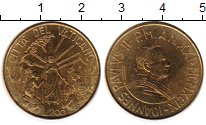 Изображение Монеты Ватикан 200 лир 1999 Латунь UNC