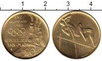 Изображение Монеты Сан-Марино 20 лир 1980 Латунь UNC